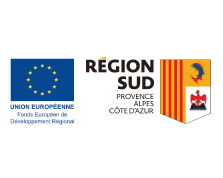 Udicat est soutenu par le fond FEDER et la Région Sud